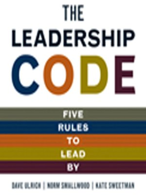 cover image of The Leadership Code