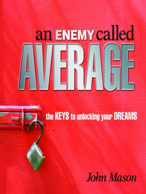 cover image of An Enemy Called Average