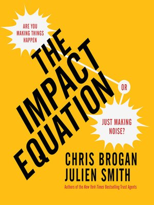 cover image of The Impact Equation