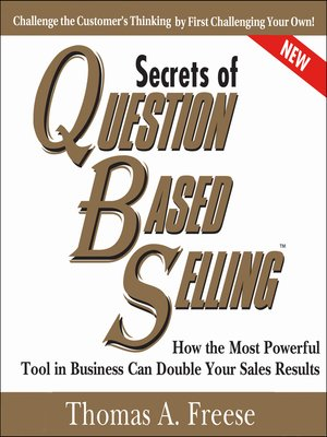 cover image of Secrets of Question-Based Selling