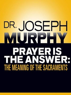 cover image of Prayer Is the Answer