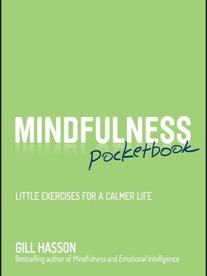 cover image of Mindfulness Pocketbook