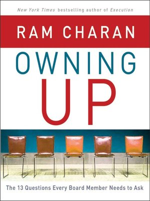 cover image of Owning Up