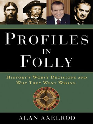 cover image of Profiles in Folly