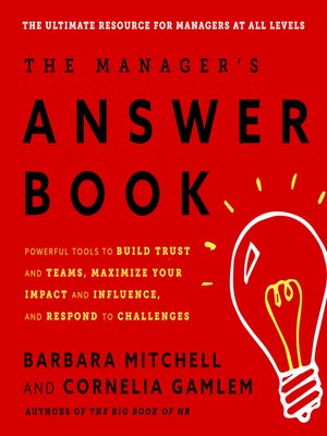 cover image of The Manager's Answer Book