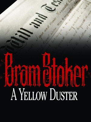 cover image of A Yellow Duster