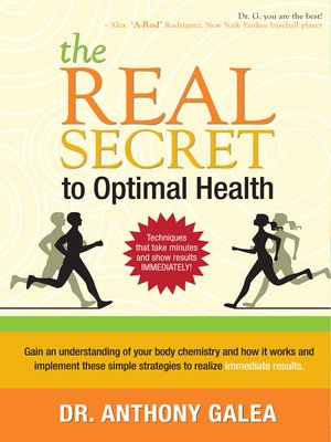 cover image of The Real Secret to Optimal Health