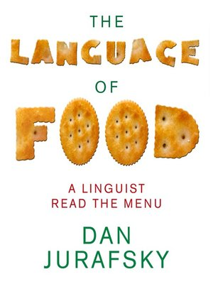 cover image of The Language of Food