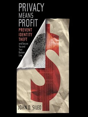 cover image of Privacy Means Profit