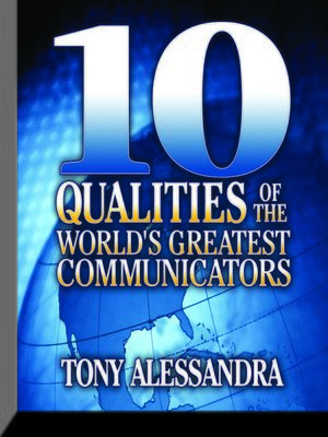 cover image of Ten Qualities the World's Greatest Communicators
