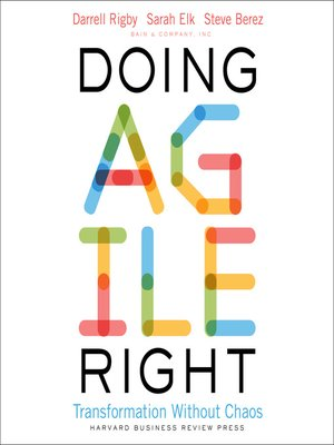 cover image of Doing Agile Right
