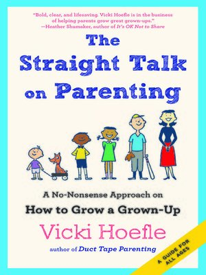 cover image of The Straight Talk on Parenting