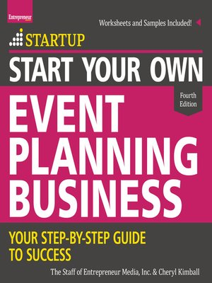 cover image of Start Your Own Event Planning Business