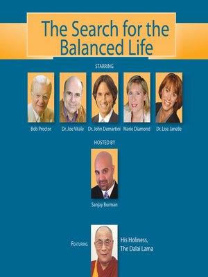 cover image of The Search for the Balanced Life