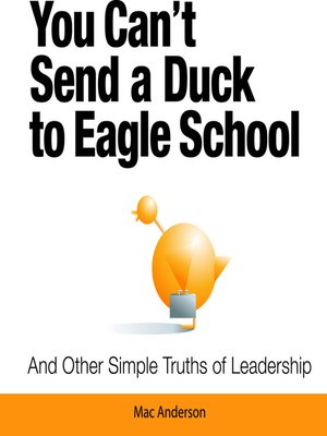 cover image of You Can't Send a Duck to Eagle School