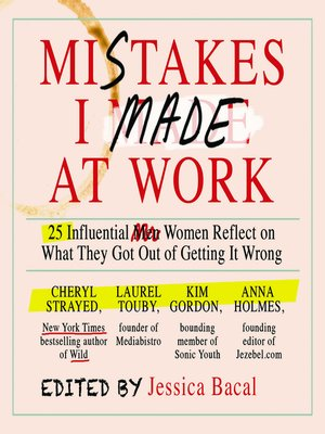 cover image of Mistakes I Made at Work