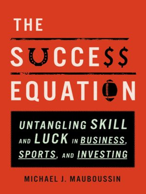 cover image of The Success Equation