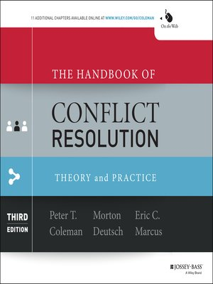 cover image of The Handbook of Conflict Resolution