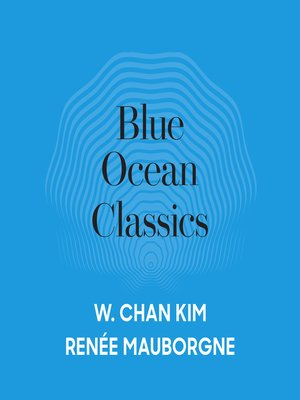 cover image of Blue Ocean Classics