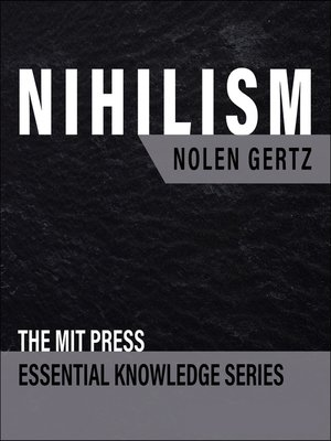 cover image of Nihilism
