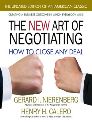 cover image of The New Art of Negotiating