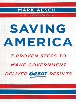 cover image of Saving America
