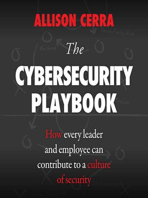 cover image of The Cybersecurity Playbook