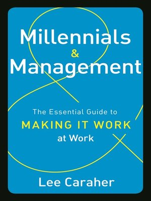 cover image of Millennials and Management