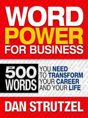 cover image of Word Power for Business