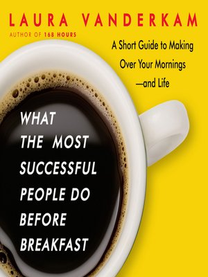 cover image of What the Most Successful People Do Before Breakfast