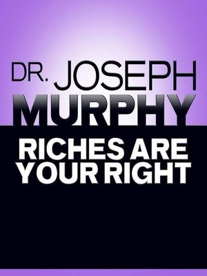 cover image of Riches Are Your Right