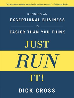cover image of Just Run it!