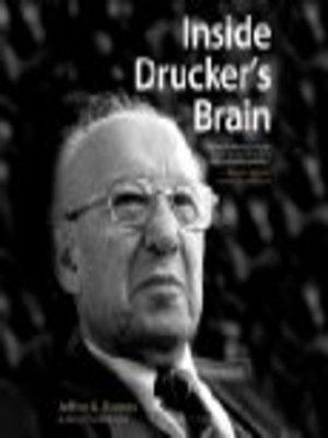 cover image of Inside Drucker's Brain