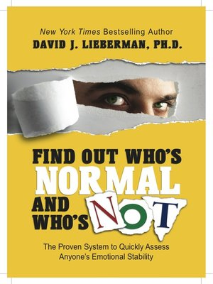cover image of Find Out Who's Normal and Who's Not