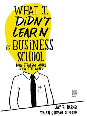 cover image of What I Didn't Learn in Business School