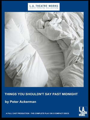 cover image of Things You Shouldn't Say Past Midnight