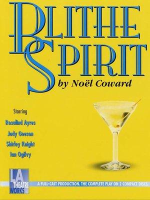 cover image of Blithe Spirit