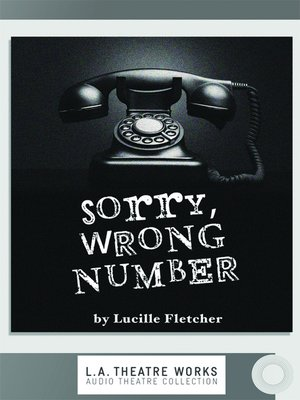 cover image of Sorry, Wrong Number