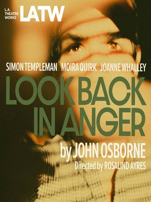 cover image of Look Back in Anger