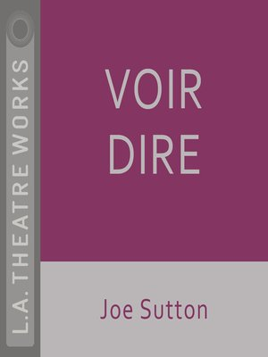 cover image of Voir Dire