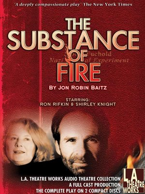 cover image of The Substance of Fire