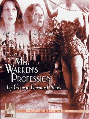 cover image of Mrs. Warren's Profession