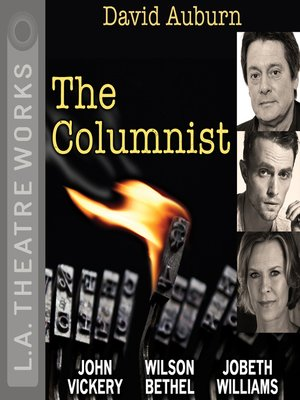 cover image of The Columnist