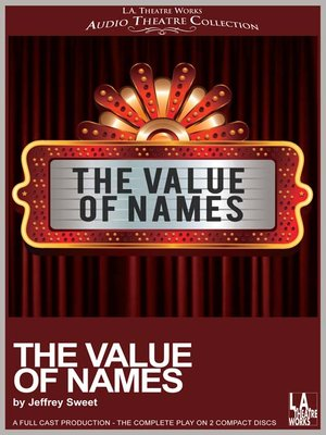 cover image of The Value of Names