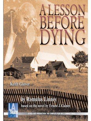 cover image of A Lesson Before Dying
