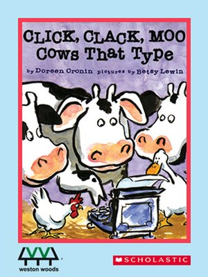 cover image of Click, Clack, Moo