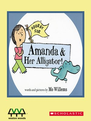cover image of Hooray For Amanda & Her Alligator!