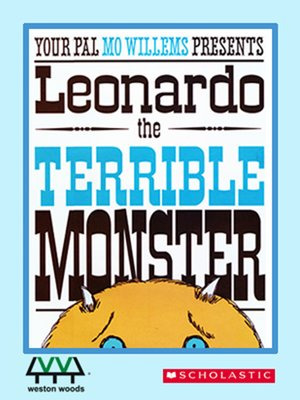 cover image of Leonardo the Terrible Monster
