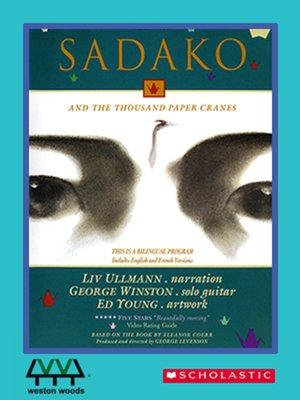 Sadako And The Thousand Paper Cranes Book