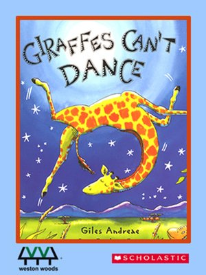 cover image of Giraffes Can't Dance